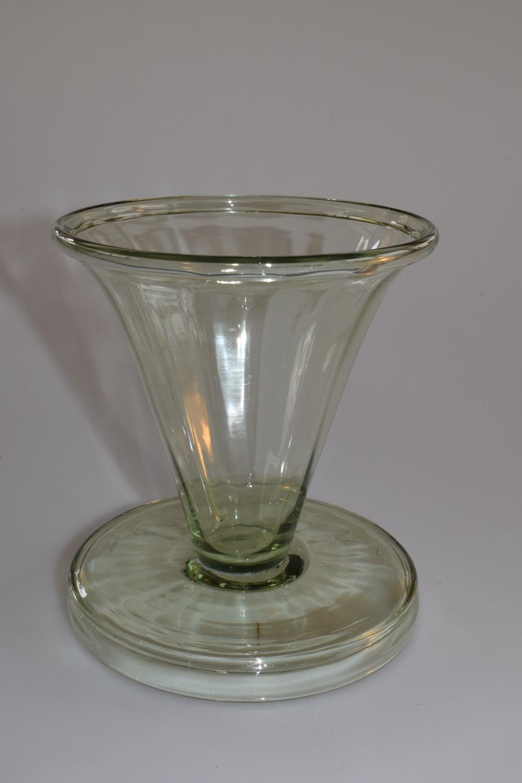 Sea green posy vase.