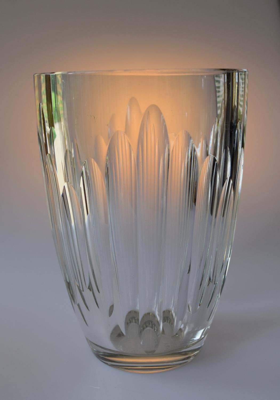 Large St Louis crystal vase
