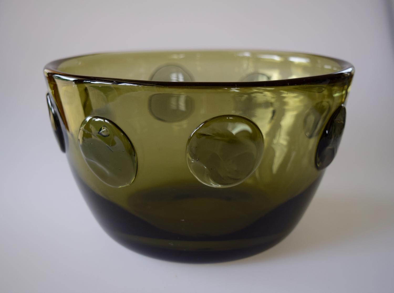 Green Hadeland bowl.