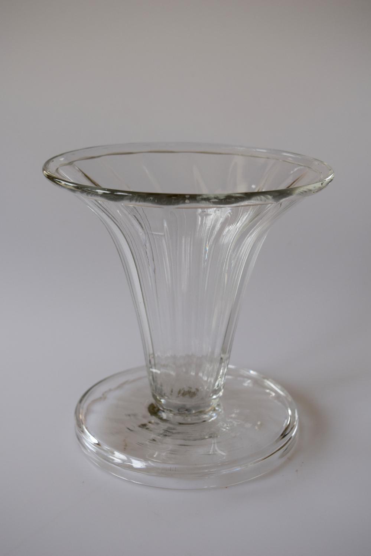 James Powell flint posy vase