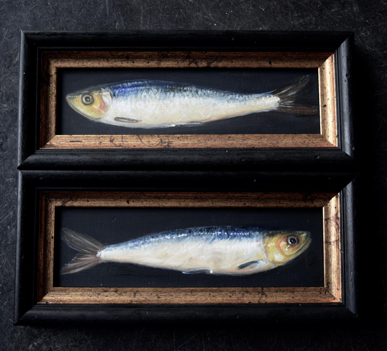 2 sardines.