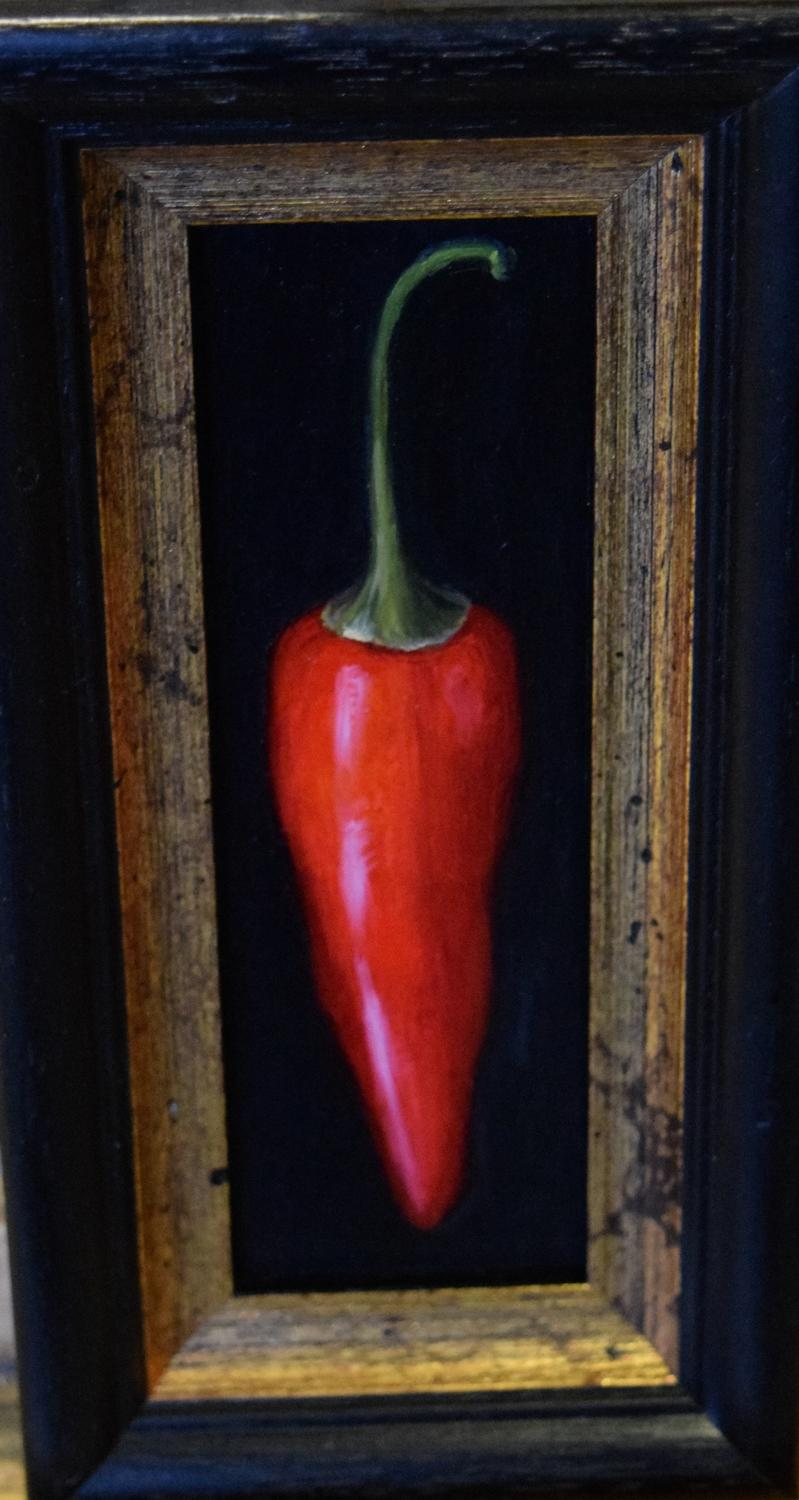 Painting of a chilli