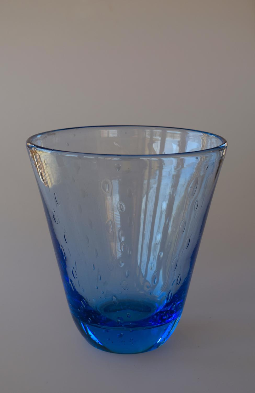 Whitefriars bubble vase