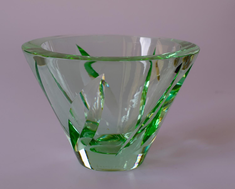 Green Daum bowl.