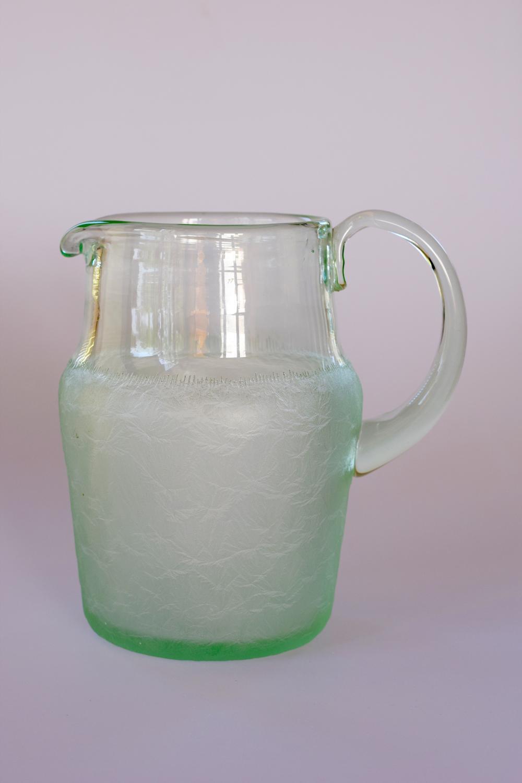 Green Daum jug.