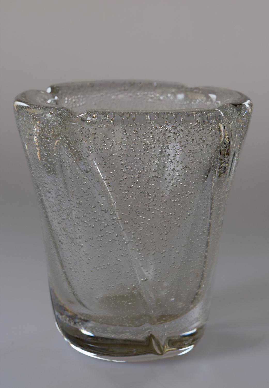 Daum bubble vase