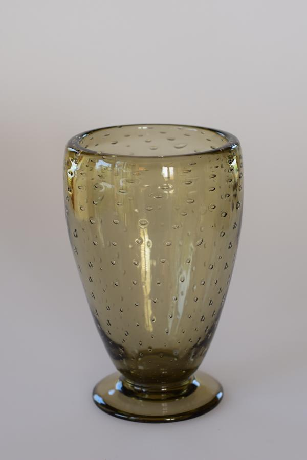 Whitefriars bubble vase.