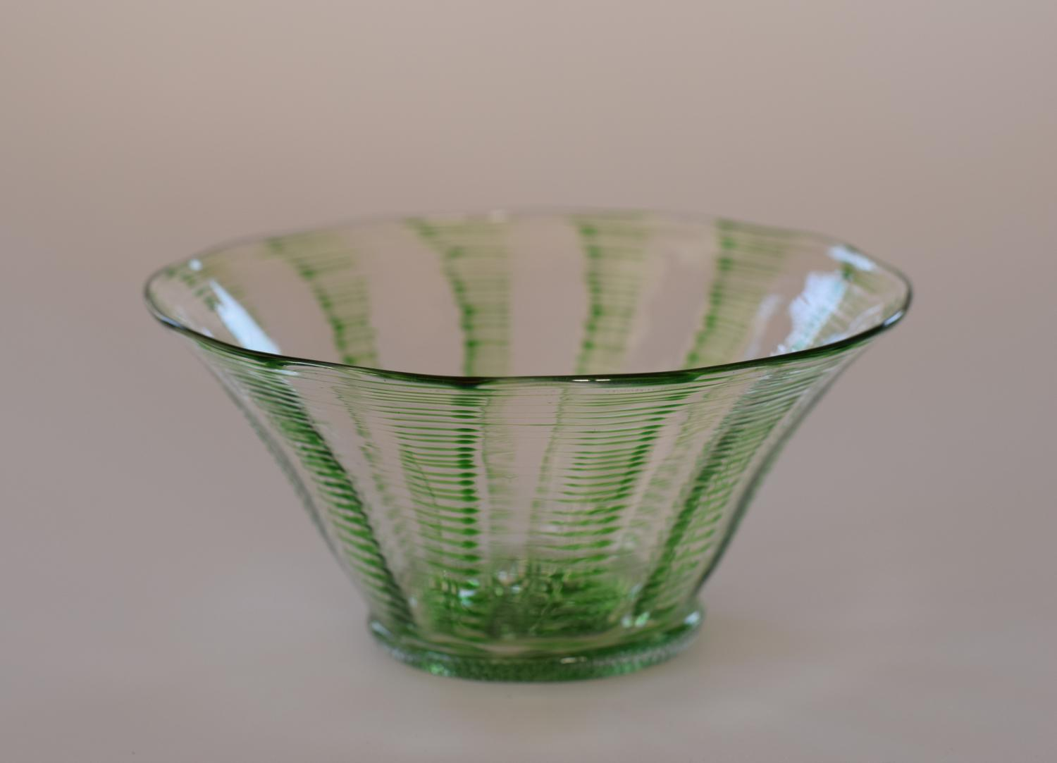 Stevens and Williams threaded bowl