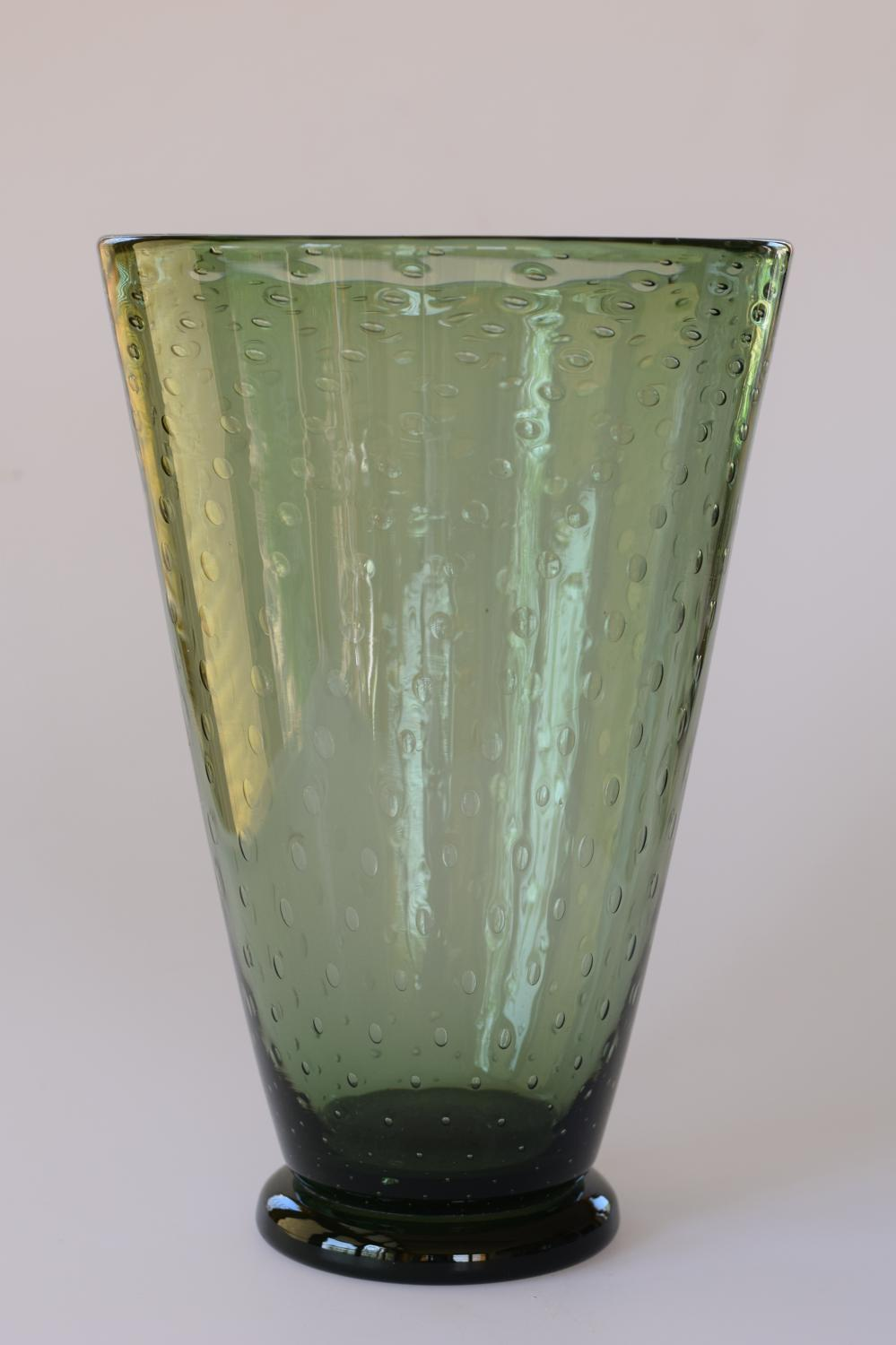 Keith Murray conical bubble vase