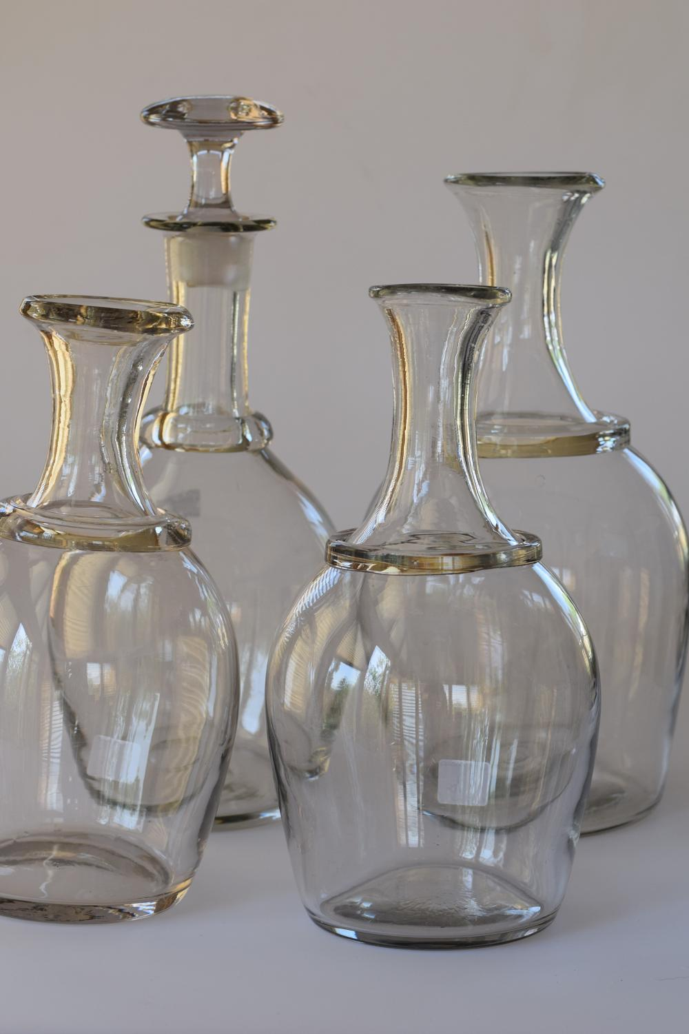 French cider decanters.