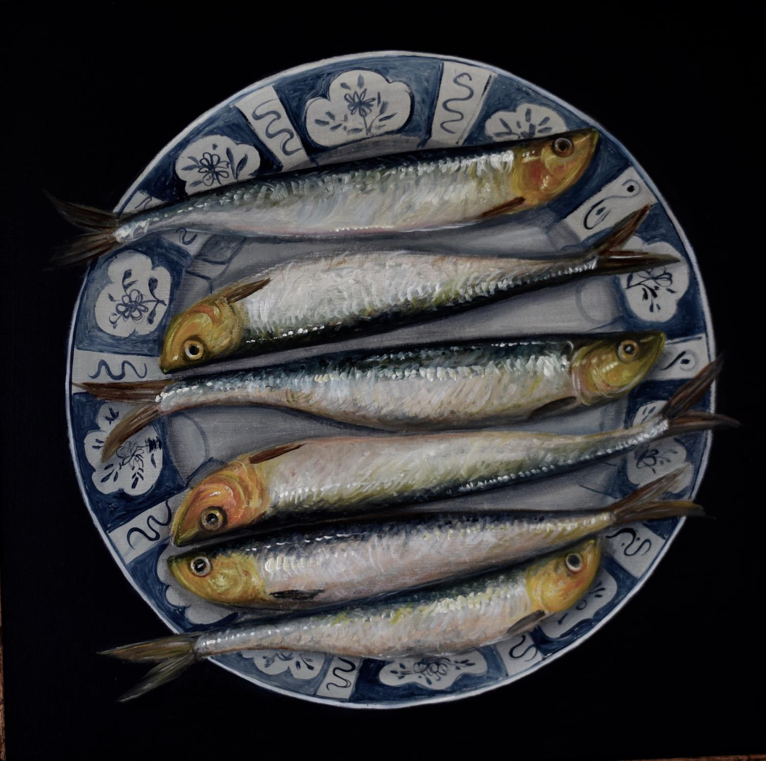 Plate of fish