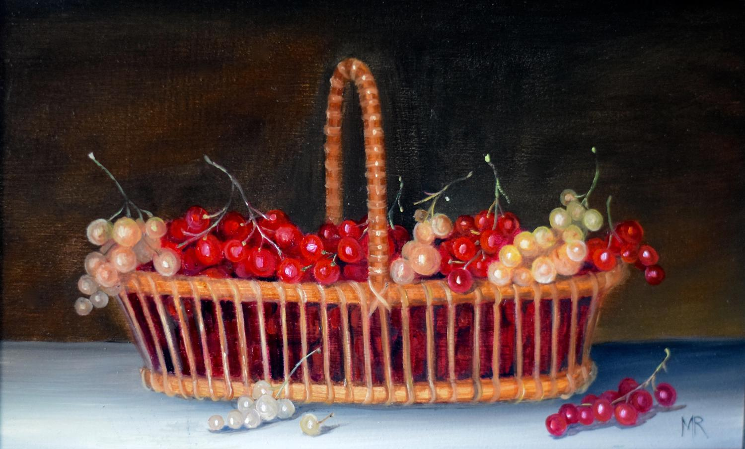 Basket of currants