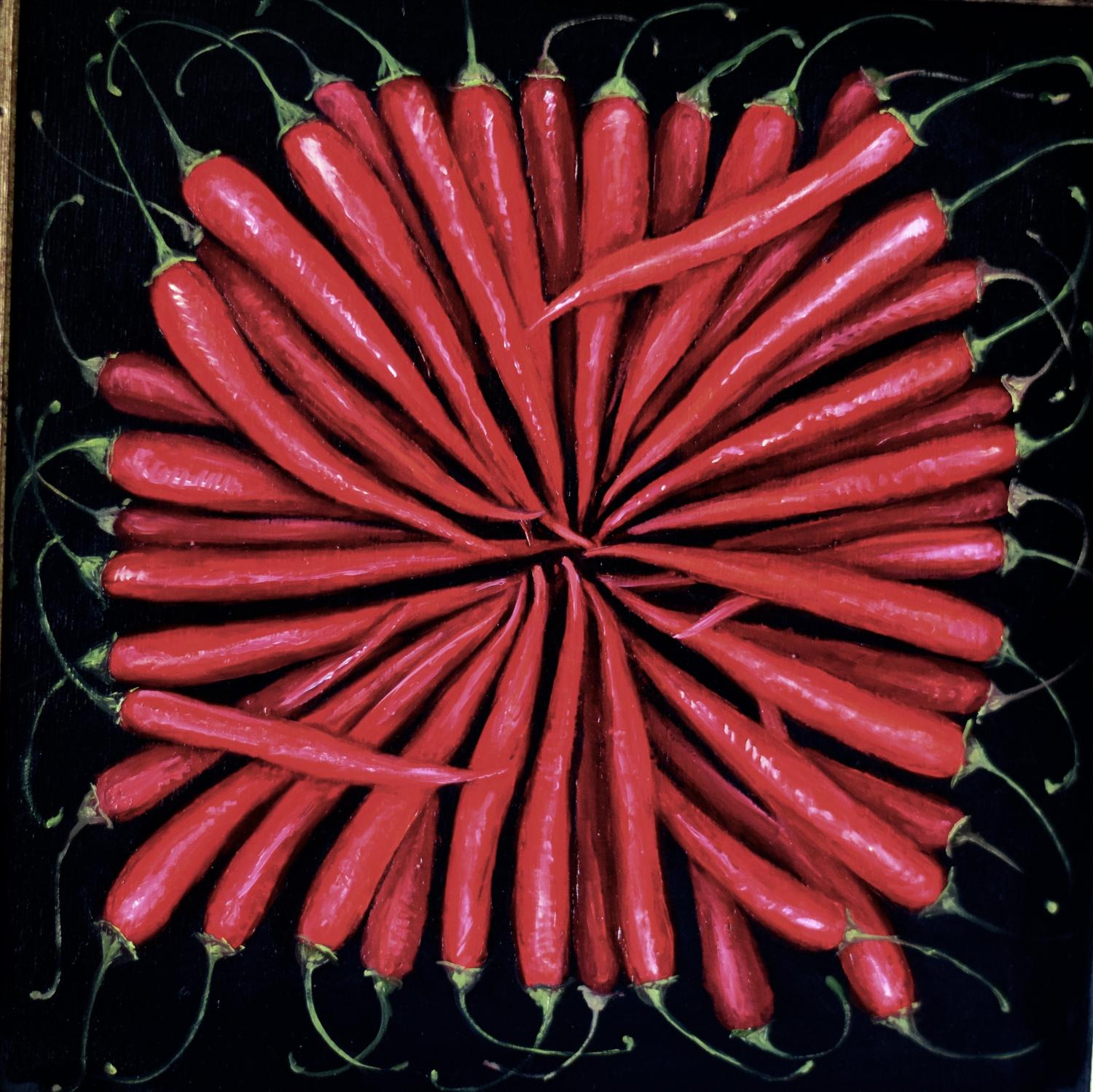 Chillis in a circle