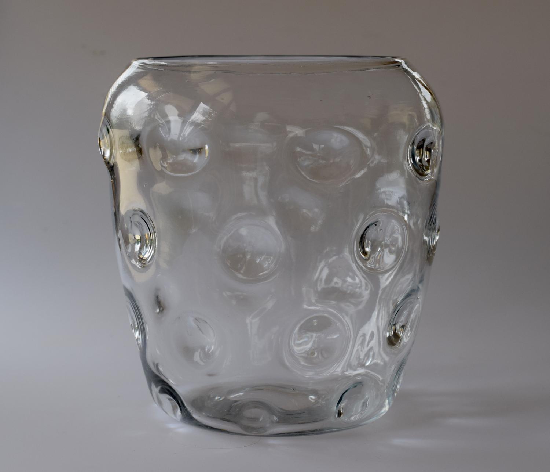 Thomas Webb Old English Bulls Eye vase