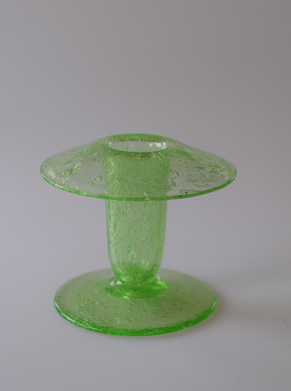Green Walsh Walsh posy vase, from the Pompeian collection