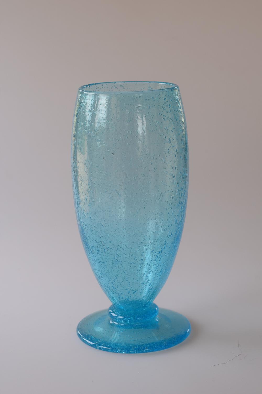 Blue Pompeian vase