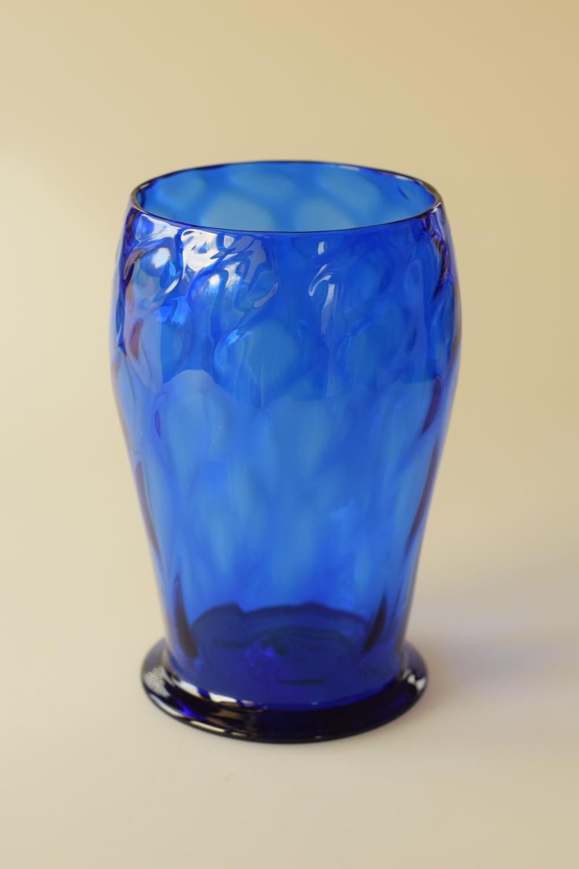 Sanctuary blue vase
