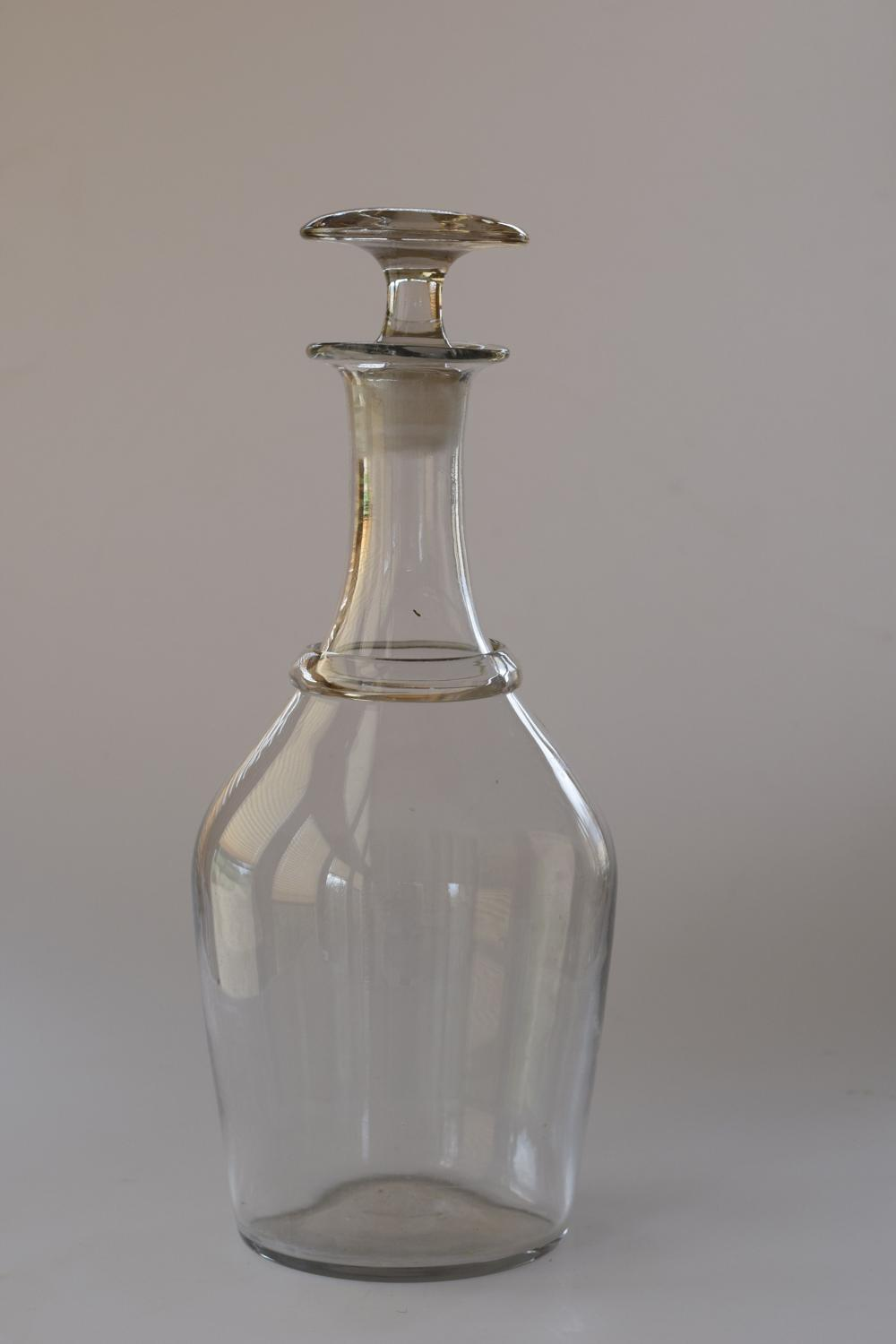 French cider decanter with stopper