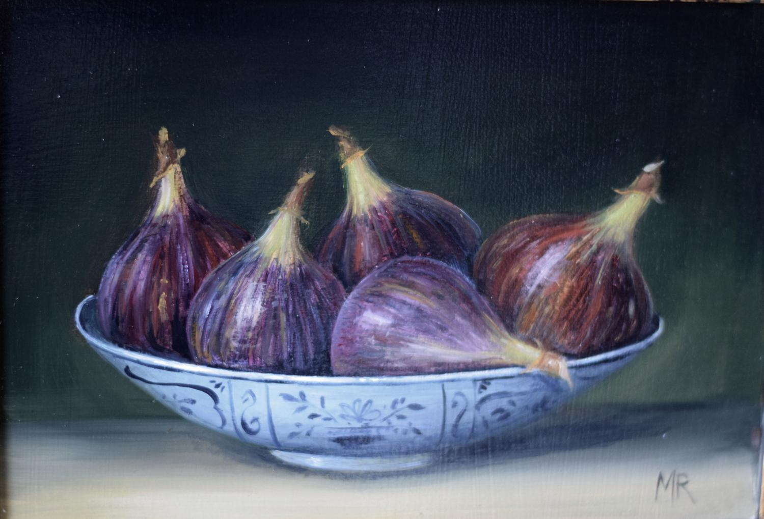 Painting of figs