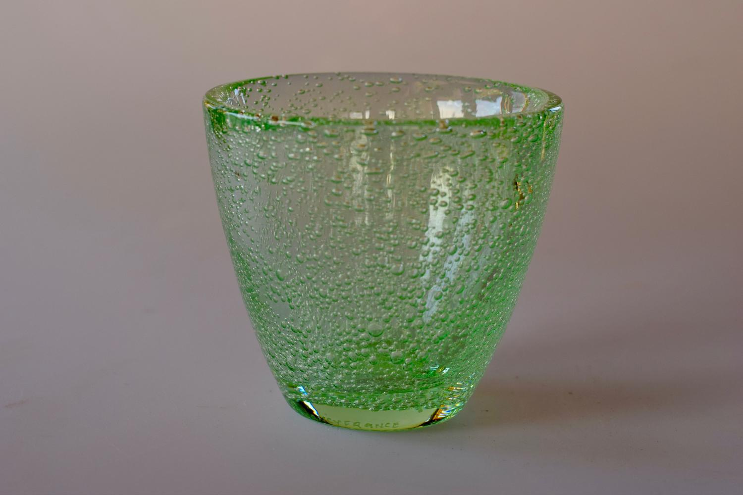 Green bubble Daum bowl