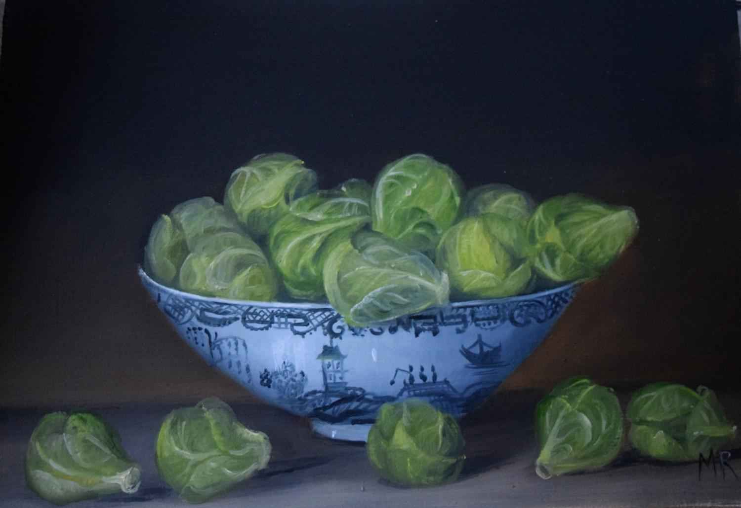 Bowl of sprouts