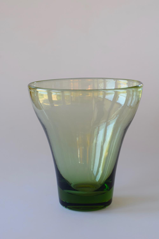 Sea green vase