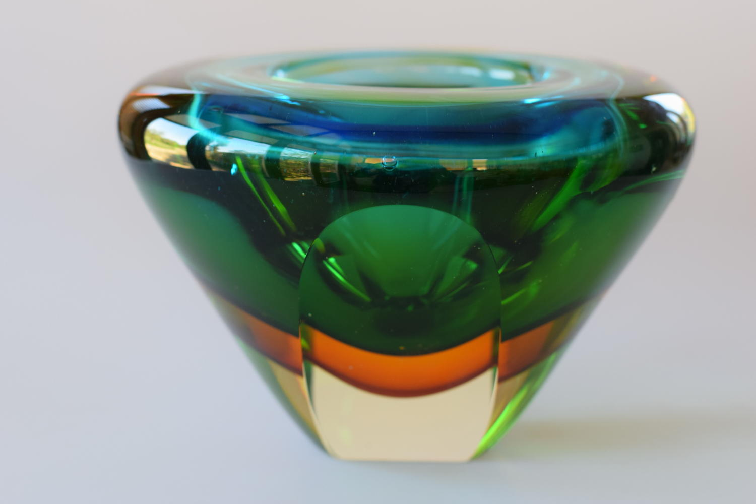 Murano Sommerso bowl