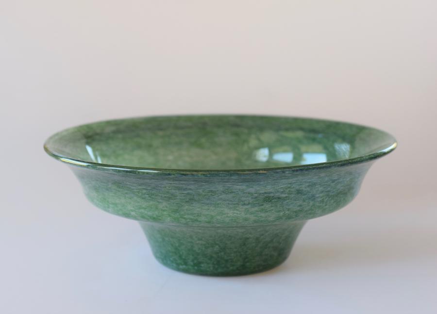 Green Monart bowl