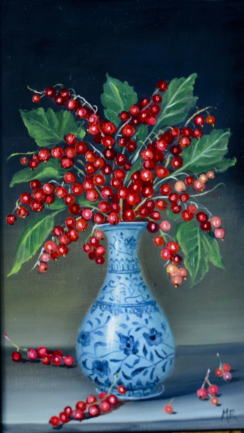 Vase of Red Currants