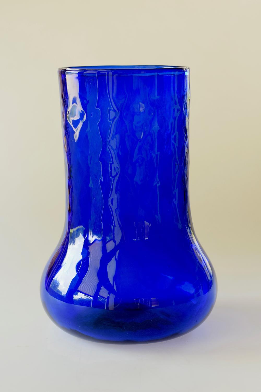 James Powell sanctuary blue vase