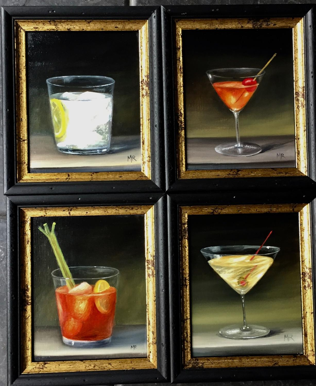 Set of 4 drinks