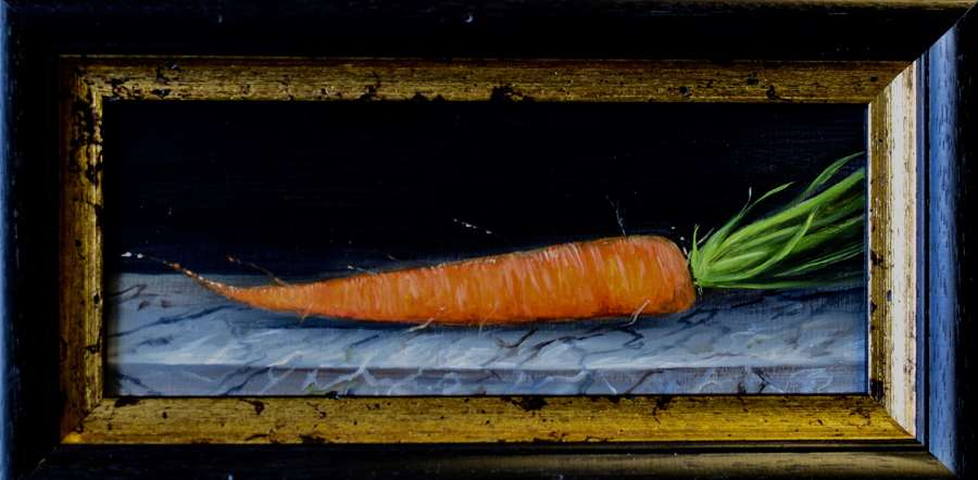Carrot on marble