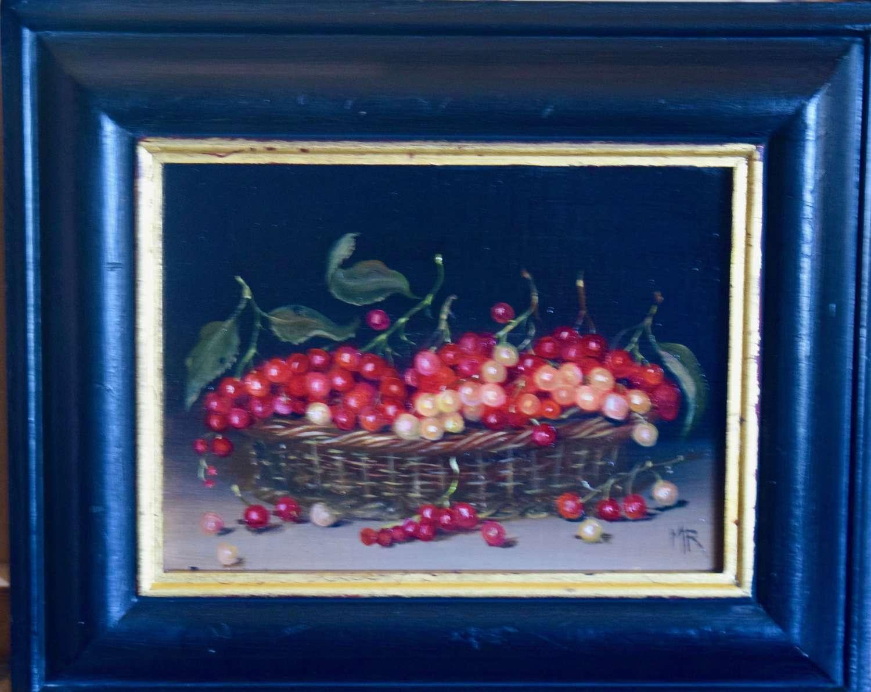 Basket of currants