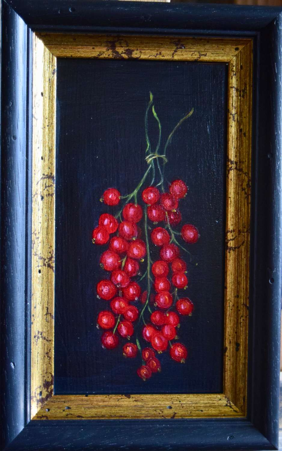 Bunch of red currants