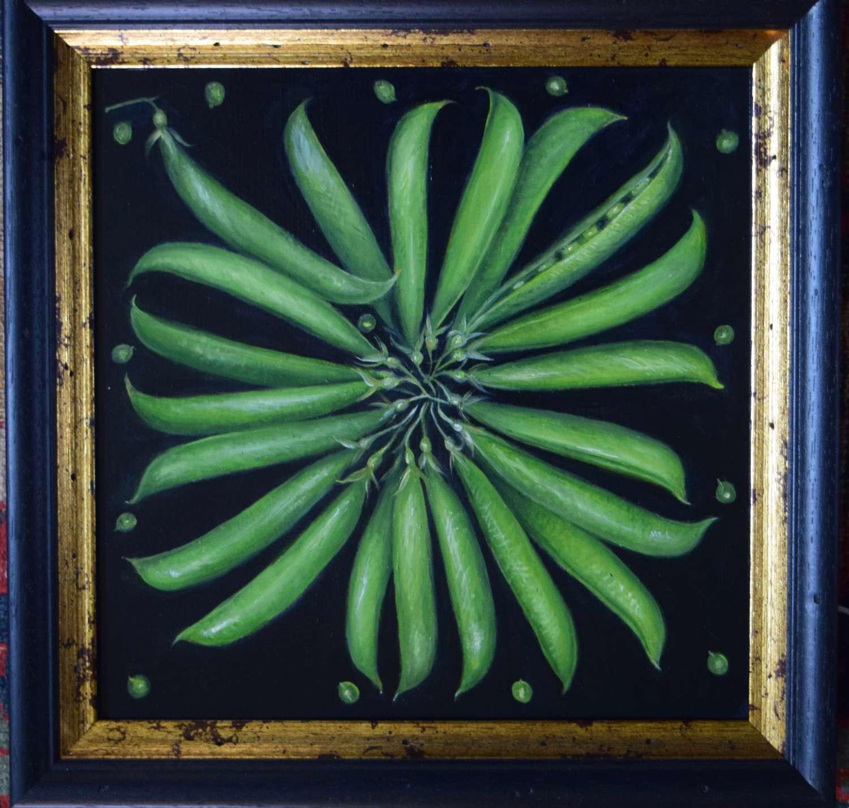 Circle of peas