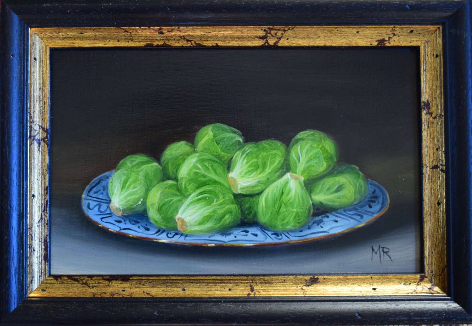 Plate of sprouts