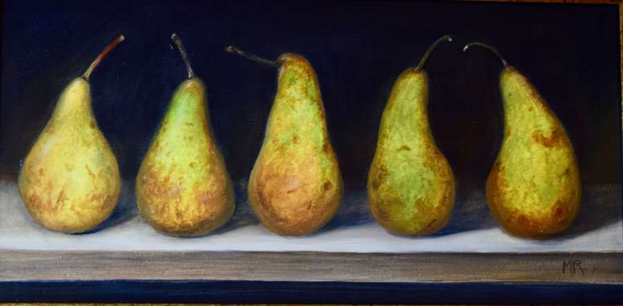 Shelf of Conference pears