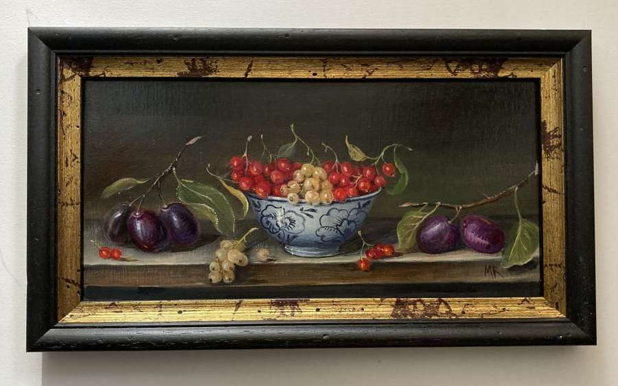Currants and plums