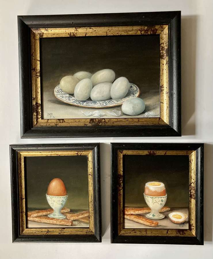 Collection of egg paintings