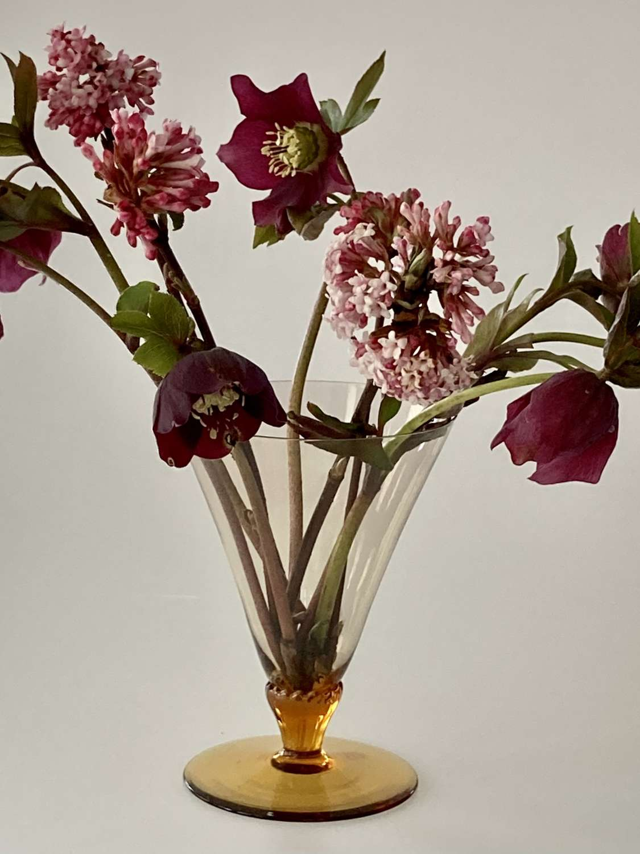 James Powell posy vase
