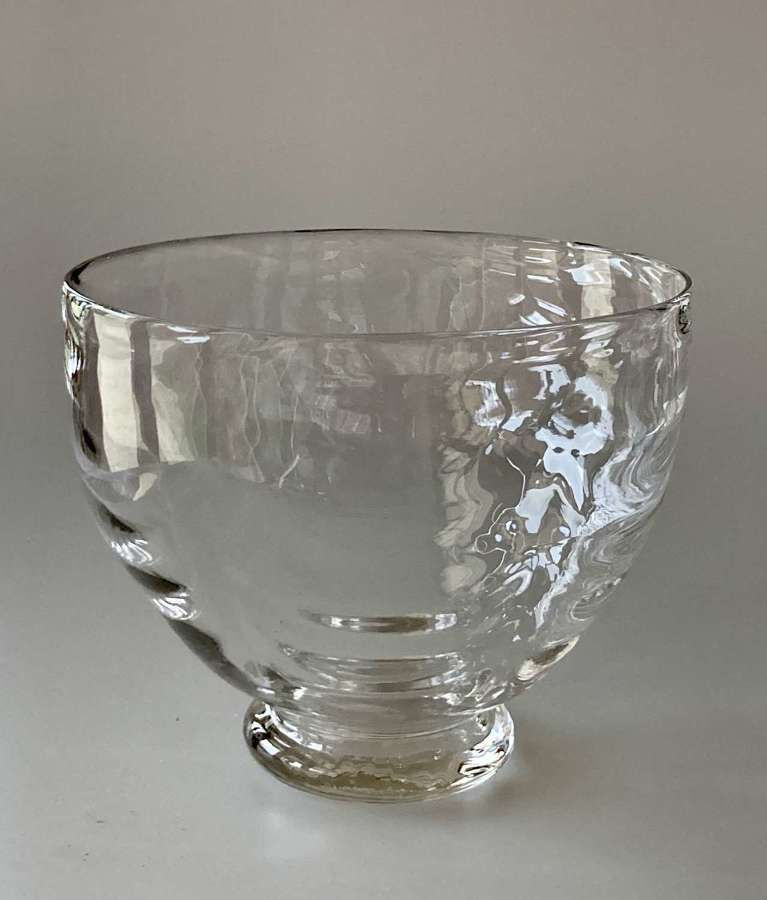 William Butler flint bowl