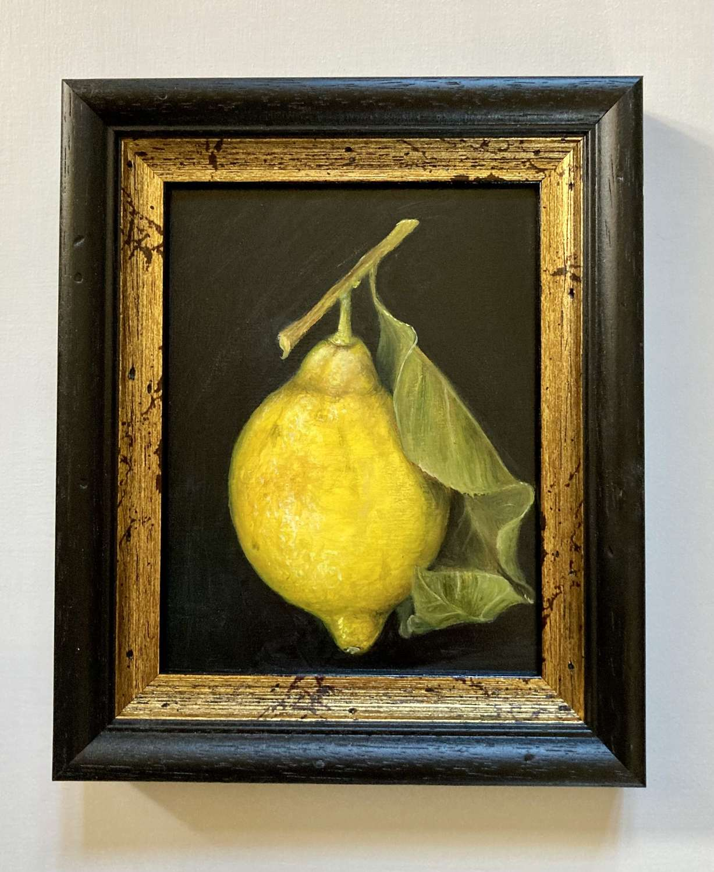 Single hanging lemon