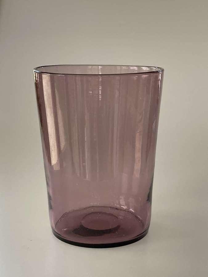 Amethyst tumbler vase