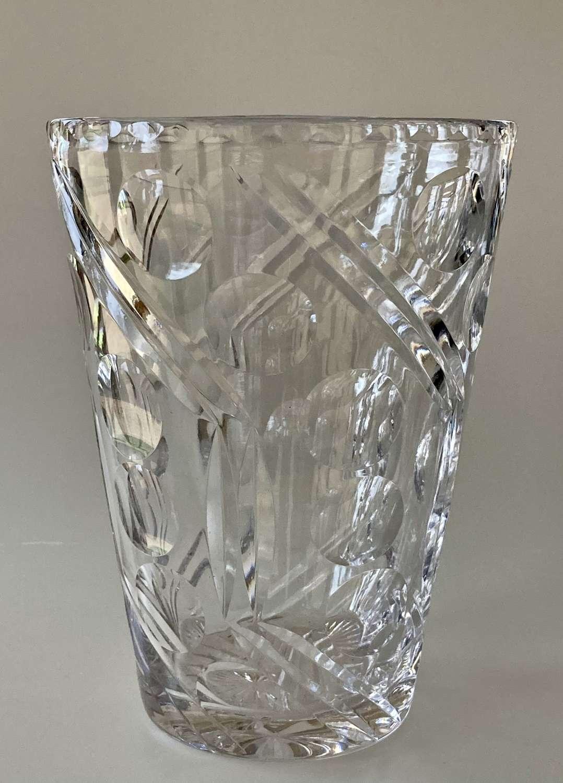 Art Deco Webb Corbett vase