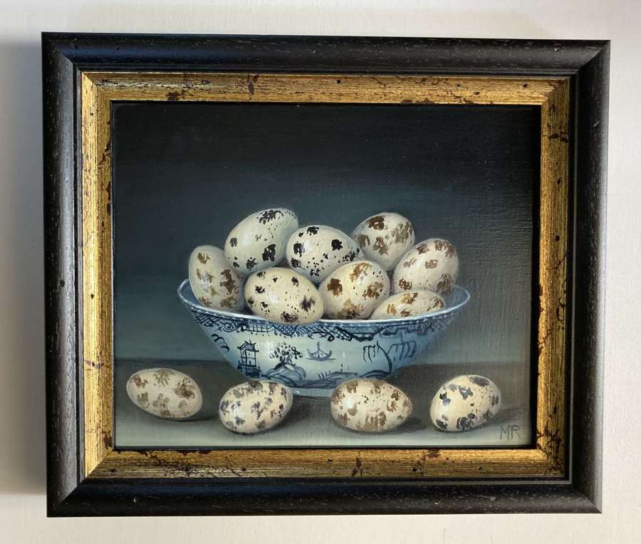 Bowl of Quail's Eggs