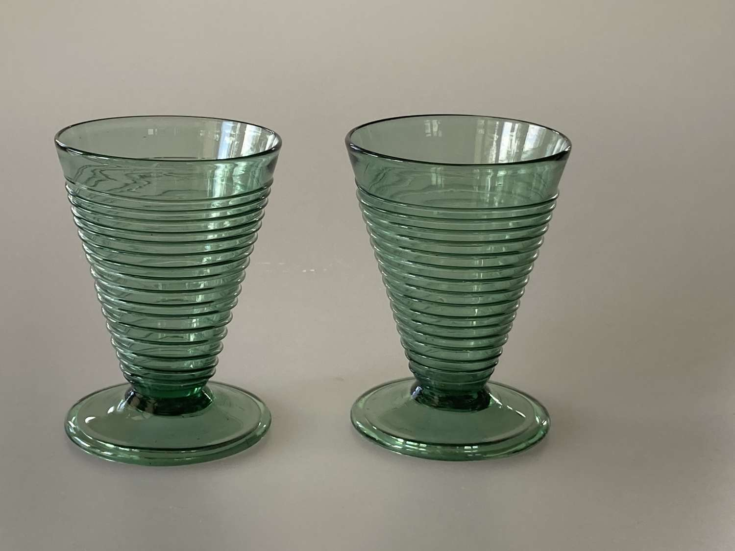 Pair of Powell Woodchester vases