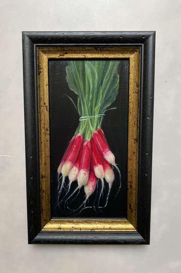Bunch radishes