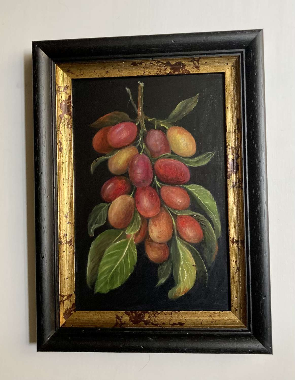 Bunch of plums