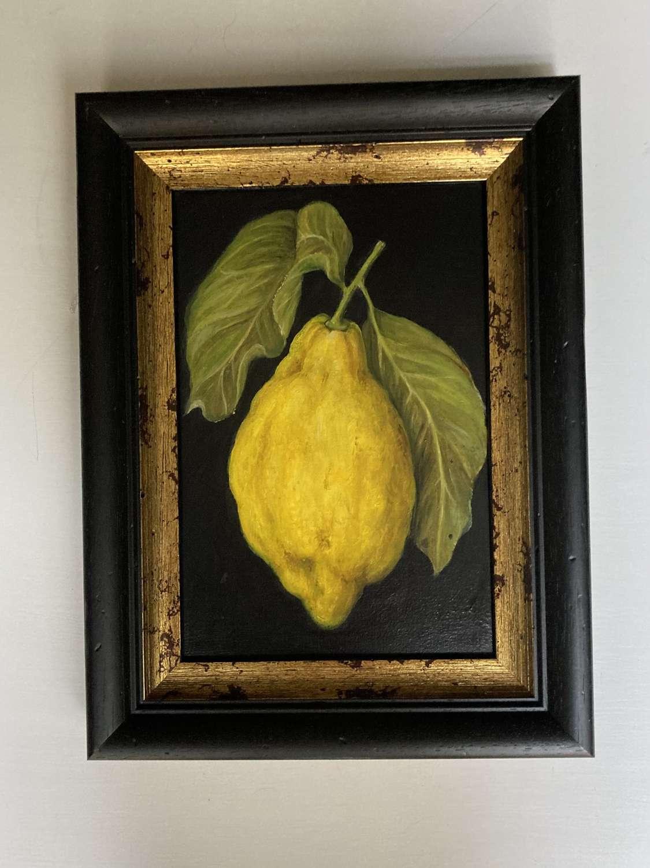 Large single lemon